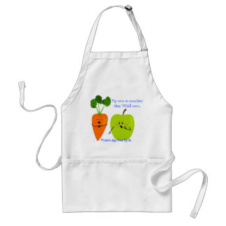 Crunchy Mom Carrot and Apple Apron