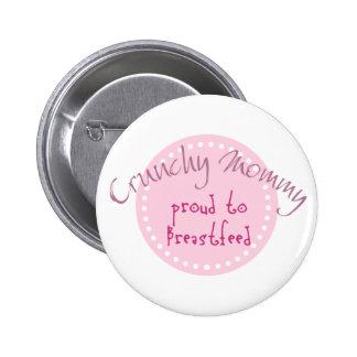 Crunchy Mommy Button