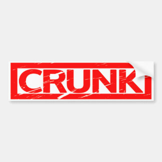 Crunk Stamp Bumper Sticker