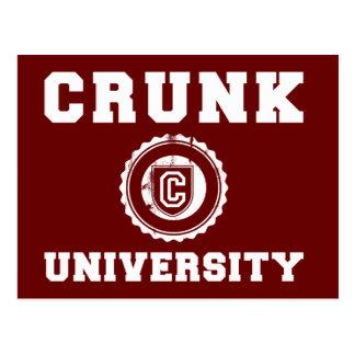 crunk university post cards