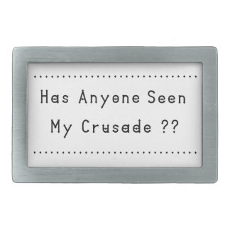 Crusade Rectangular Belt Buckle