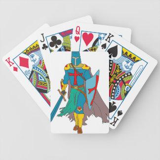 Crusader Bicycle Playing Cards