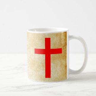 CRUSADER CROSS COFFEE MUG