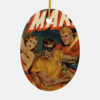Crusader from Mars Ceramic Ornament