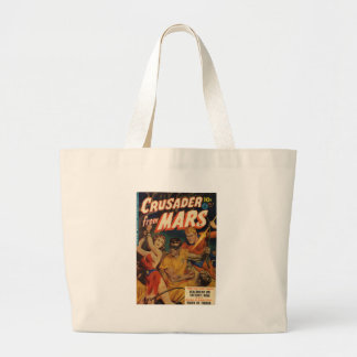 Crusader from Mars Large Tote Bag