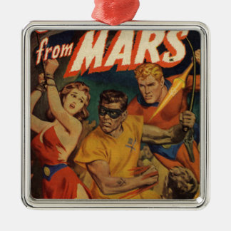 Crusader from Mars Metal Ornament