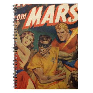 Crusader from Mars Notebook