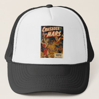 Crusader from Mars Trucker Hat