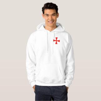 Crusader hoodie small cross