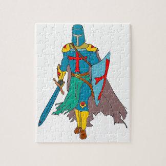 Crusader Jigsaw Puzzle