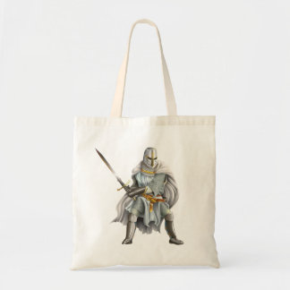 Crusader Knight Budget Tote Bag