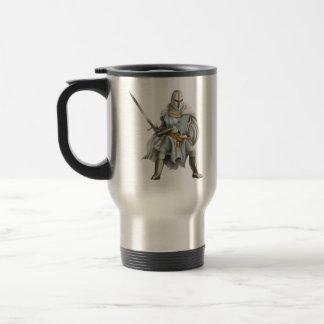 Crusader Knight Travel Mug