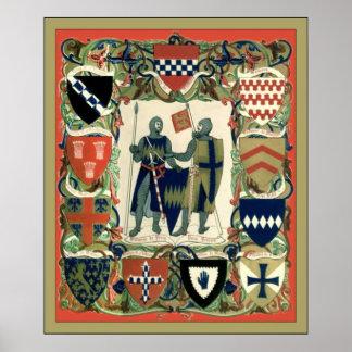 Crusader Knights Posters