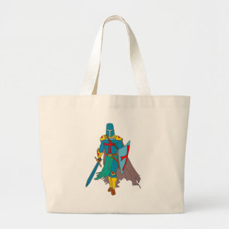 Crusader Large Tote Bag