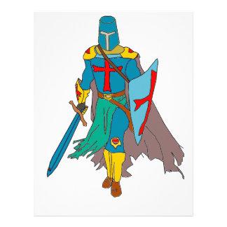 Crusader Letterhead