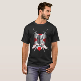 Crusader shield in the Templar style T-Shirt