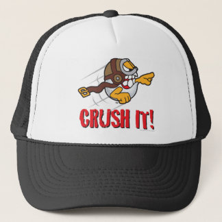Crush it! Long drive golf ball Trucker Hat