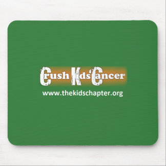 """Crush Kids' Cancer"" Mousepad"