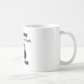 crust punk design coffee mug