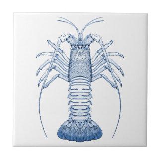 Crustaceans Ceramics ~ Rock Lobster Tile