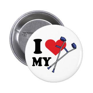 Crutch Love Button
