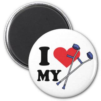 Crutch Love Magnet