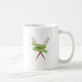 Crutches Coffee Mug