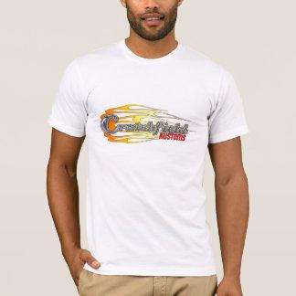 Crutchfield white racing T T-Shirt