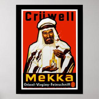 Cruwell Mekka Tobacco Poster