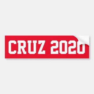 CRUZ 2020 - red Bumper Sticker