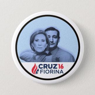 Cruz Fiorina '16 3 Inch Round Button