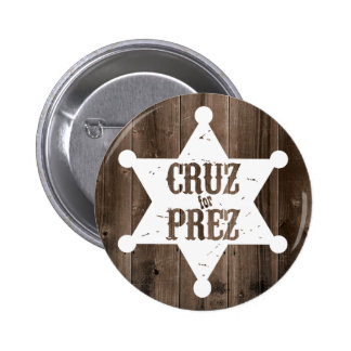 Cruz for Prez Star - Ted Cruz for President 2 Inch Round Button