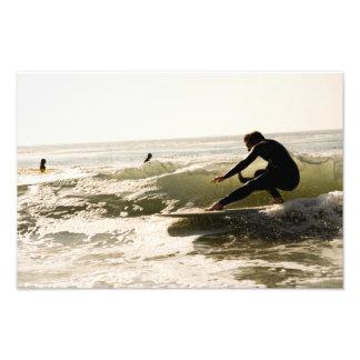 Cruz the wave photo print