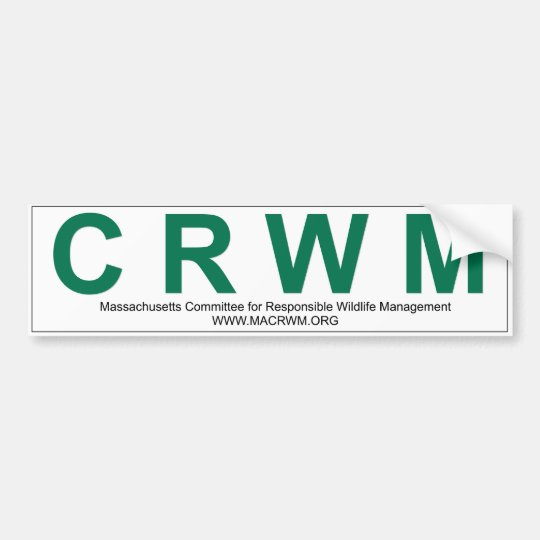 CRWM Bumper Sticker