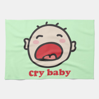 Cry Baby Kitchen Towel