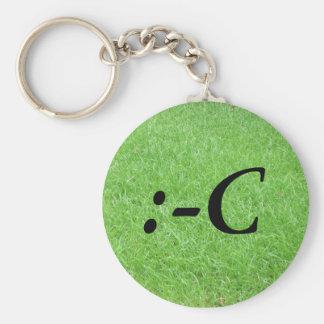 cRY Basic Round Button Keychain