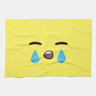 Cry Emoji Kitchen Towel