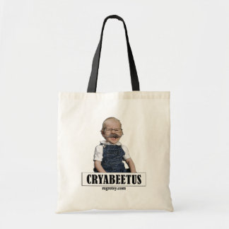 Cryabeetus Budget Tote Bag