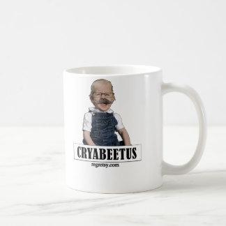Cryabeetus Classic White Coffee Mug