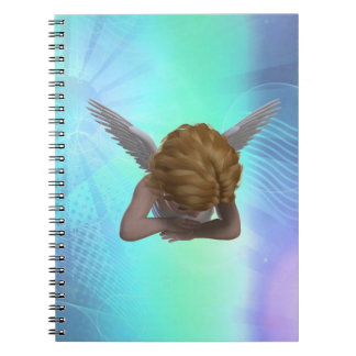 Crying Angel Notebook
