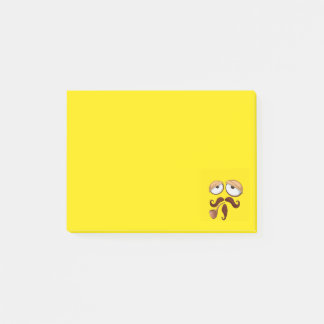 Crying Baby Yellow Smiley FaceFancy Yellow Smiley Post-it Notes