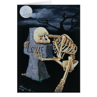 """Crying Bones"" Card"