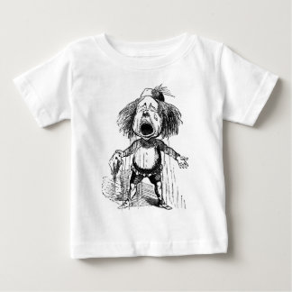 Crying Boy Funny Vintage Cartoon Drawing Baby T-Shirt