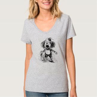 Crying Boy Funny Vintage Cartoon Drawing T-Shirt