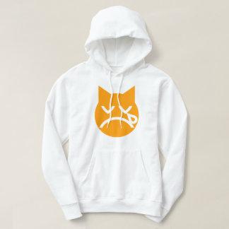 Crying Emoji Cat Hoodie