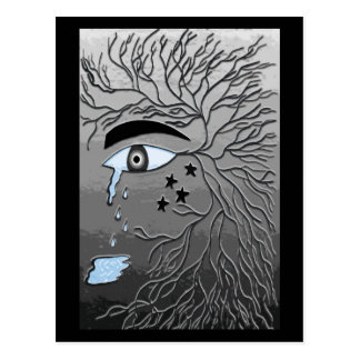 Crying Eye Postcard