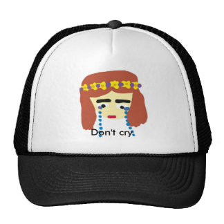crying girl, Don't cry Trucker Hat