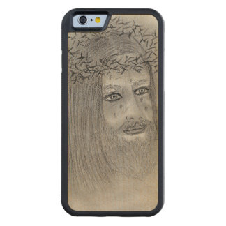 Crying Jesus Maple iPhone 6 Bumper