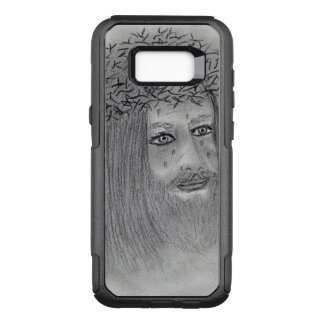 Crying Jesus OtterBox Commuter Samsung Galaxy S8+ Case