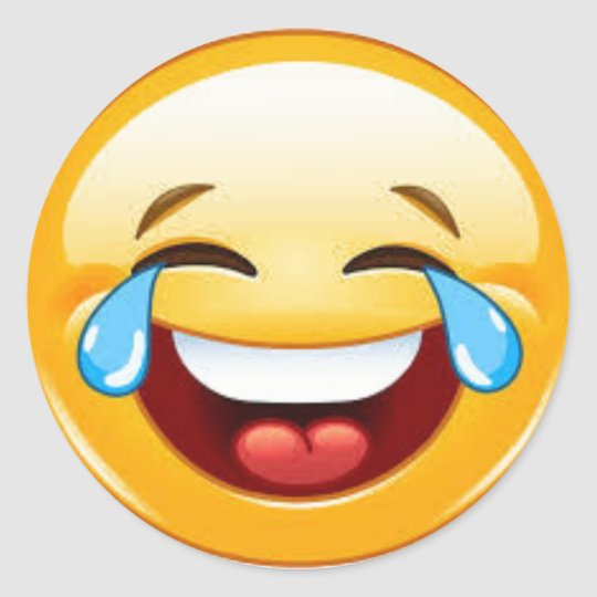 Crying Laugh Emoji Sticker